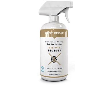 bye-bye bed bugs natural bedbug killer spray by pest peeve