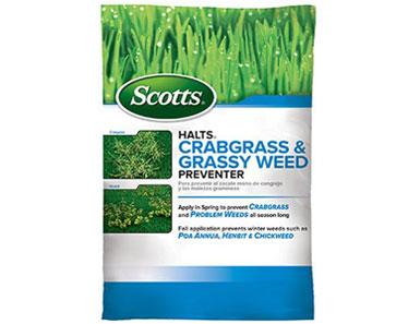 scotts halts crabgrass killer